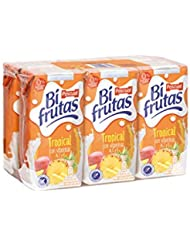 Bifrutas Zumo de Frutas Tropical - Pack de 6 x 20 cl - Total: 1,2 l
