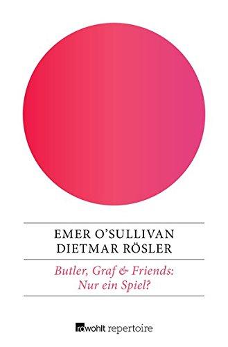 Buchseite und Rezensionen zu 'Nur ein Spiel?: Ein deutsch-englischer Krimi (Butler & Graf, Band 2)' von Emer O'Sullivan