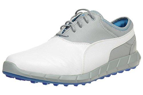 Puma Ignite Golf Men Golfschuhe white leather 188679 07, pointure:eur 46