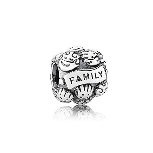 Pandora - bead componibile da donna, argento sterling 925, 10 mm, cod. 791039