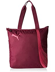 Puma Fundamentals Shopper –  rosa Magenta Purple/Fuchsia Purple Talla:36 x 8 x 41 cm, 17.5 liter