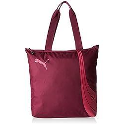 Puma Fundamentals Shopper– rosa Magenta Purple/Fuchsia Purple Talla:36 x 8 x 41 cm, 17.5 liter