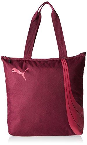 Puma Fundamentals - Borsa/shopper da donna , Donna, Tasche Fundamentals Shopper, Magenta Purple/Fuchsia Purple, 36 x 8 x 41 cm, 17.5 liter