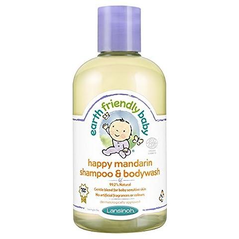 Earth Friendly Baby Happy Mandarin Shampoo and Bodywash Ecocert