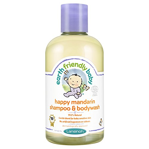 Earth Friendly Baby Happy Mandarin Shampoo and Bodywash Ecocert