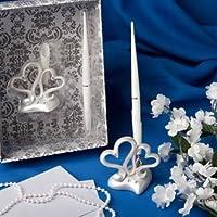 Interlocking hearts design wedding pen set, 16 by FashionCraft preisvergleich bei billige-tabletten.eu