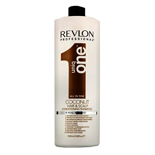 Revlon Uniq One Coconut All in One Conditioning Shampoo, 1000 ml