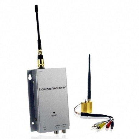 Booster de Signal sans fil et récepteur Kit - portée 300 mètres