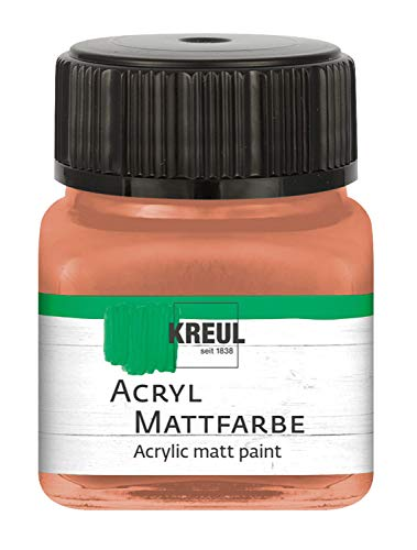 Acryl Mattfarbe Terracotta 20 ml