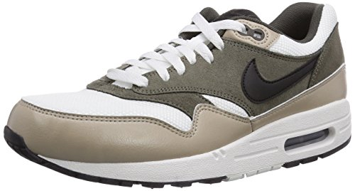 Nike Air Max 1 Essential, Baskets mode homme Blanc (Mit Whi)
