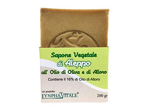 Jabón Alepo - Aceite Oliva Aceite Laurel 16% - Método