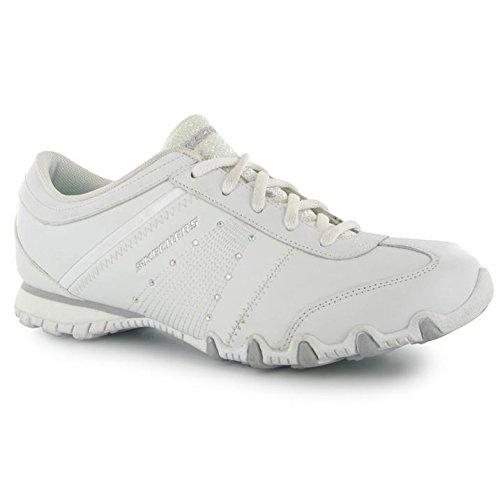 Skechers , Baskets mode pour femme Blanc - blanc