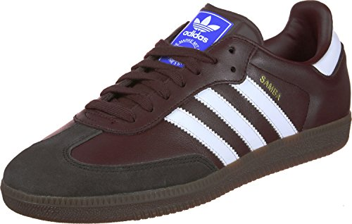 adidas Samba OG, Baskets Homme Marron (Mystery Brown S17/core Black/night Brown)
