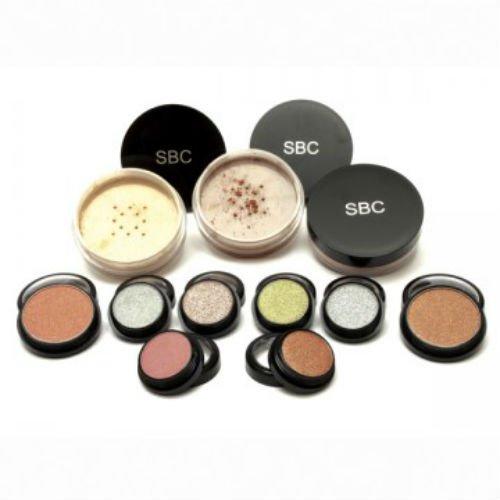 Mineral-make-up-kits (SBC 11 stück Mineral-Make-up-Kit für professional und student gebrauch (erfüllt NVQ normen))