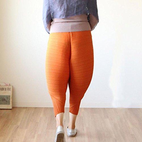Yogogo Femmes Pantalons De Poulet Nouveauté Solide Un Pantalon Ample Leggings brown