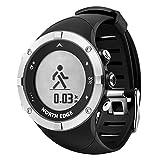 WWGG Smarte Uhr mit GPS-Motion-Tracker mit Herzfrequenz-Überwachung Kompass für Android IOS Männer und Frauen