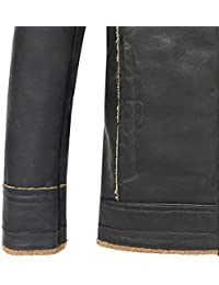 Amazon.fr   Blouson cuir - Homme   Vêtements 3a699e2f5a95