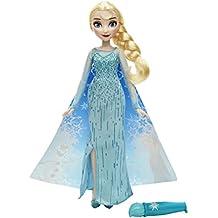 Frozen - Muñeca Elsa con capa mágica (Hasbro B6700ES00)