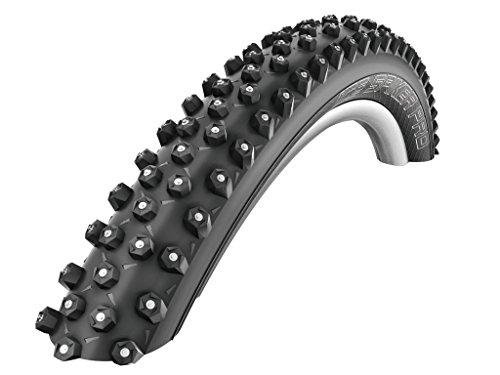 SCHWALBE MTB Reifen Ice Spiker Pro faltbar Winterreifen (Größe: 26x2.10 54-559) (Winterreifen Für Fahrräder)