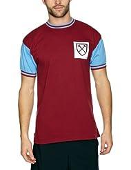 Scoredraw Maillot de football rétro West Ham United 1966 Numéro 6