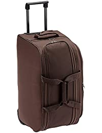 Safari Revv Polyester 63 cms Brown Softsided Travel Duffle (Revv-65-Brown-RD)