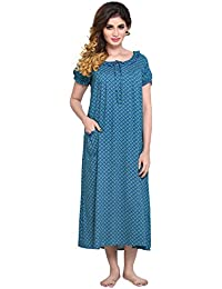 48851e669bd PDPM Women s Short Rayon Nighty Nightwear   Night Dress Sleepwear   Gown