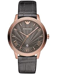 Emporio Armani AR-reloj analógico de cuarzo cuero AR1717