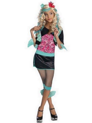 Monster High Mädchen Kostüme und Perücken (Monster High Ringe)