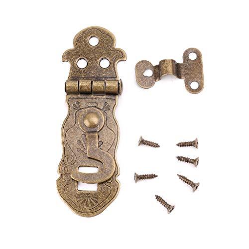 YUYUE21 (1pc Bloc-Notes Bronze-Vert-Bronze-Boucle-Boucle-Boucle-loquet