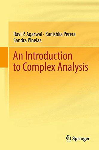 An Introduction to Complex Analysis par Ravi P. P. Agarwal