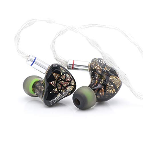 Fearless Audio Paladin Series Electrostatic Driver In-Ear Monitor HiFi Earphone for Audiophiles (Lancelot) -