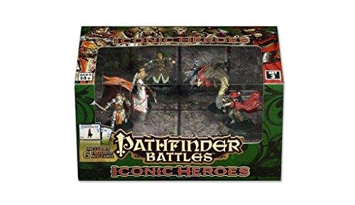 Pathfinder Iconic Helden Box 3 - Zahlen Pathfinder-miniaturen