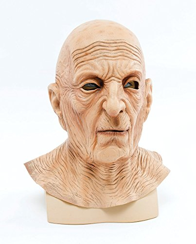 Bristol Novelty BM340 Old Man Maske, beige, one size (Kostümen Scary Alte)