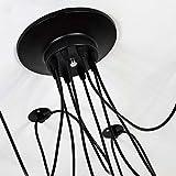 AN Home Hotel Beleuchtung Exquisite Kronleuchter, antike DIY Decke Spinne Lampe Licht Seil Schnur Kupfer E27 Droplight Vintage Spinne Kronleuchter Kreative Bar Pendelleuchte