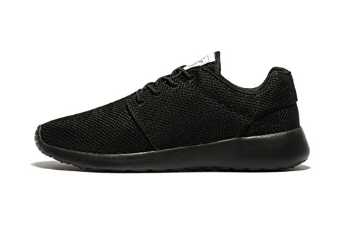 daillor Herren & Damen-air-breathing Mesh Laufschuhe, Walking Sneakers Allblack