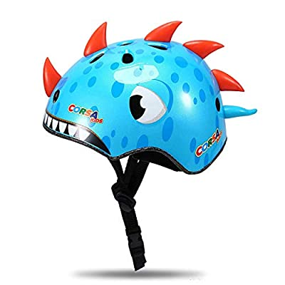 ENJOHOS Babimax Kids Childrens 3D Cartoon Animals Safety Helmet Cycling Skating Scooter Bike Helmets for Girls Boys Gifts from TL-005