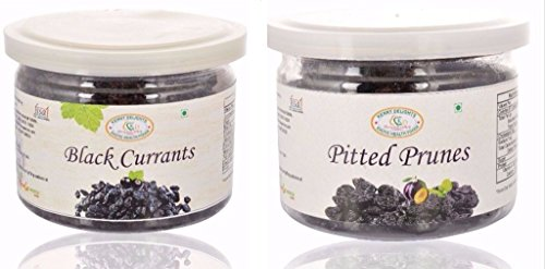 Kenny Delights Prunes, 170g And Black Currants, 150g