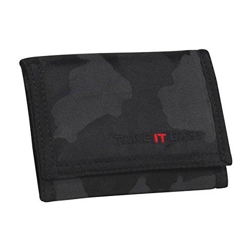 Preisvergleich Produktbild Take It Easy Geldbörse Camouflage schwarz 495001 camouflage schwarz