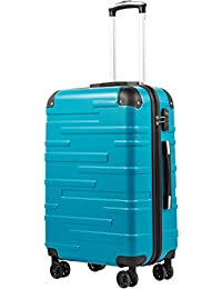 COOLIFE Expandable Suitcase(Only L Size Expandable) Hard Shell Luggage with TSA Lock and 4 Spinner Wheels Lightweight 2 Year Warranty Durable