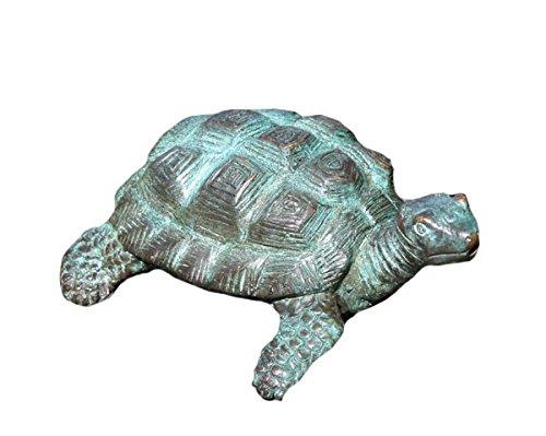 kleine Schildkröte aus Bronze