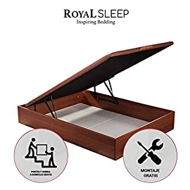 ROYAL-SLEEP-Canap-Abatible-de-Madera-con-Gran-Capacidad-Tapa-3D-Transpirable
