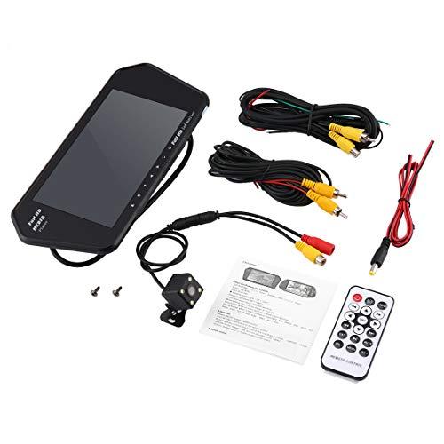 """ForceSthrength 7""""LCD Auto Rückfahrkamera Kit Spiegel Monitor 170 ° Winkel Rückfahrkamera"""
