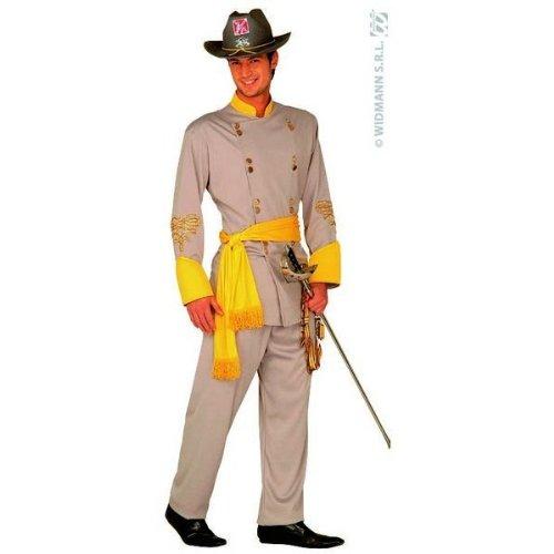 Südstaatler General-Kostüm für Herren M