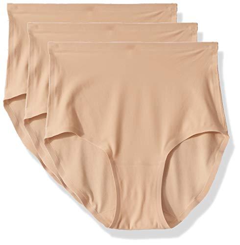 Chantelle Damen Taillenslip Soft Stretch, 3er pack, Elfenbein (Nude Wu), Einheitsgröße (Herstellergröße: OS)