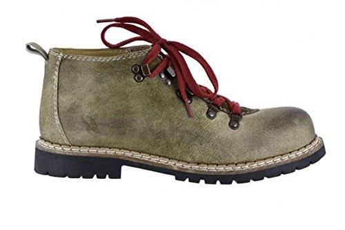 Spieth & Wensky Herren Jonah Boots Nubukleder Antik Braun Gr.47