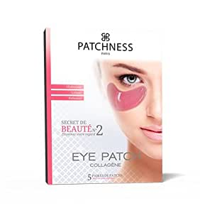Patchness - Eye Patch Pink - Patch Anti-Cernes Collagène Aux Extraits De Vigne Rouge 5 Paires