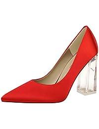 c9648b34 Caitlin Pan Womens 65 MM Puntiagudo Talón del Gatito del Vestido de Charol  Bombas del Partido Zapatos de la Corte… EUR 26,99 - EUR 49,99 · XLY Zapatos  ...
