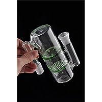 Sunshine Glass Hochwertige Transparente Rohre Zum Rauchen Blau Filter und Birdcage