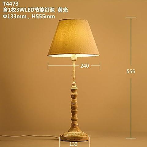 Das Wohnzimmer ist tischlampen idyllische Schlafzimmer Bett Lampen 133 * 555 mm Lampen dekoriert