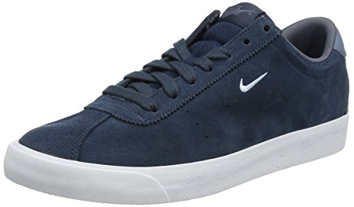 Nike Match Classic Suede, Herren Sneaker, Blau (Armory Navy/Light Armory Blue/Armory Blue), 44.5 EU (9.5 UK) (Clearance Mädchen Mantel)